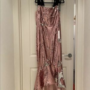 Rachel Gilbert Addie Sequin Gown.New with tags